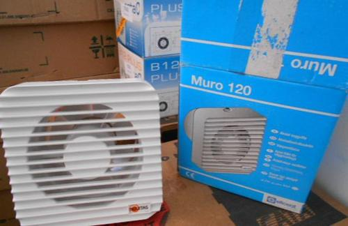 Exaustor Lavabos / Wc Muro 120 127 Volts  MULTIVAC