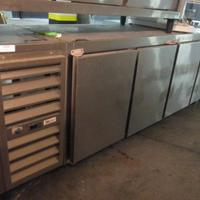 Freezer industrial horizontal 4 portas