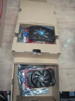 2 Peças - Placas de vídeo Power Color Radeon HD 6670 2GB